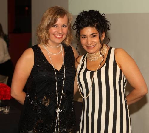 Amy Martens and Raelene Pullen at Figge Gala Event