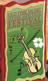 Old Time Ozark Heritage Festival logo